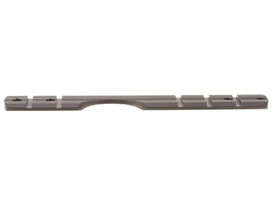 B-Square 1-Piece InterLock Weaver-Style Scope Base Savage 110 Through 116 Round Rear Long Action Matte
