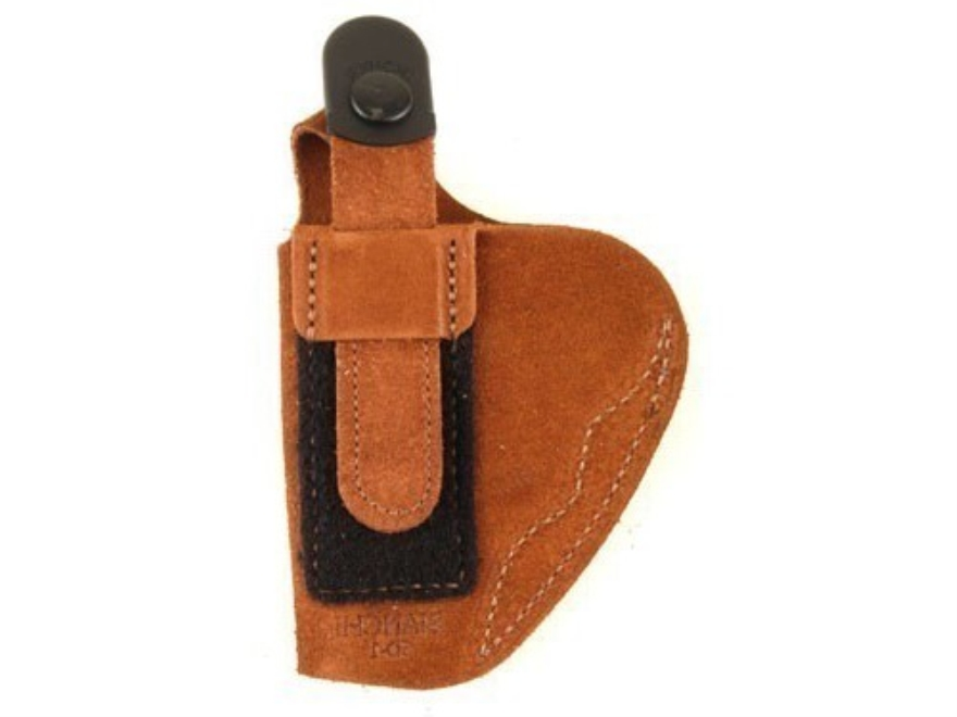 Bianchi 6D ATB Inside the Waistband Holster Right Hand Beretta 84, 84F, 85, 85F Cheetah, 85 Puma, Browning BDA 380, Sig Sauer P230, P232, Walther PP, PPK, PPK/S Suede Tan