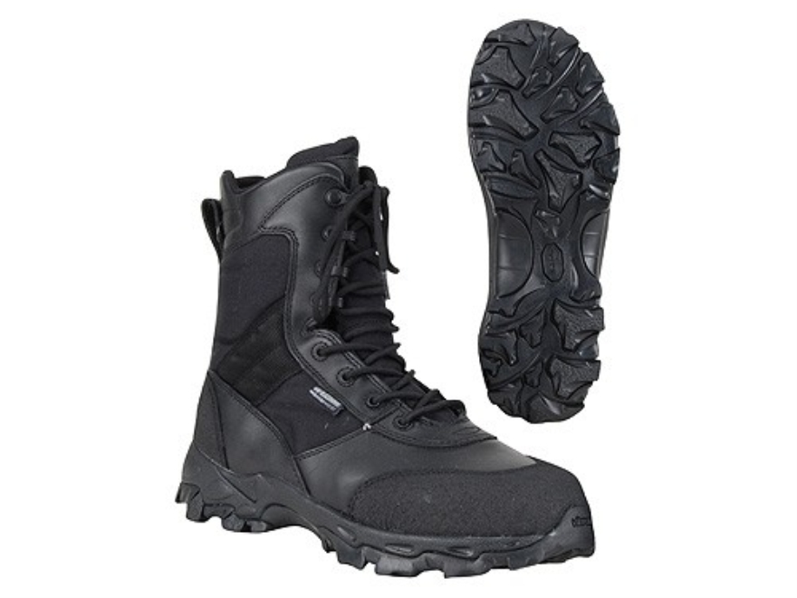 "BLACKHAWK! Black Ops 8"" Waterproof Uninsulated Tactical Boots Leather and Nylon Black Men's 10-1/2 D"
