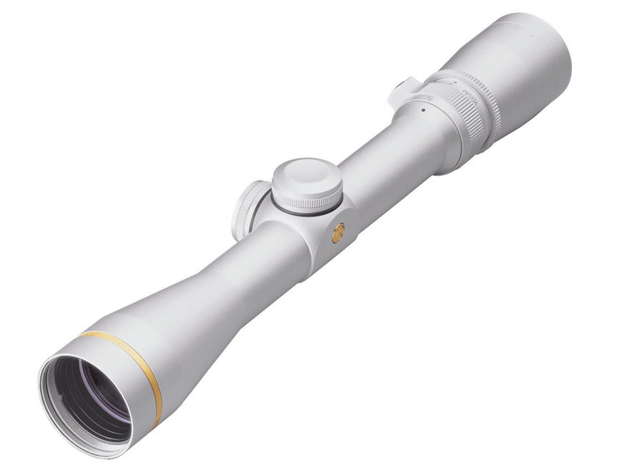 Leupold VX-3 Rifle Scope 2.5-8x 36mm Duplex Reticle Silver