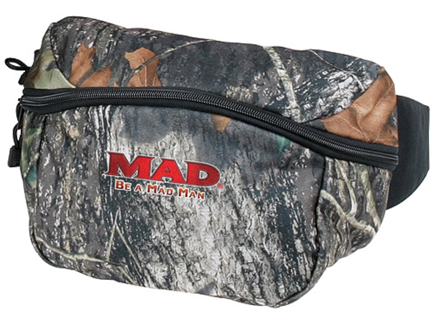 M.A.D. Single Pocket Fanny Pack Polyester Mossy Oak Break-Up Camo