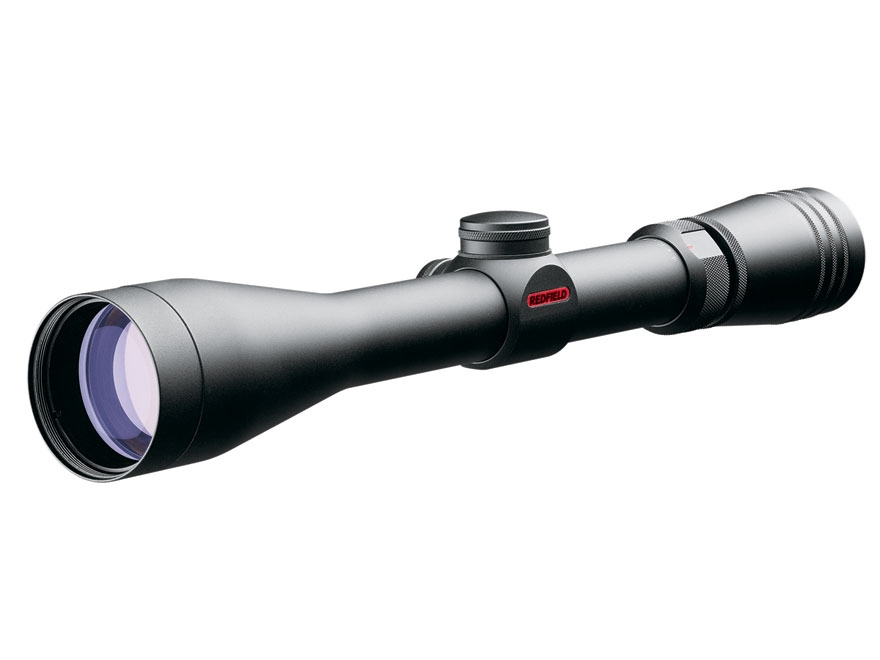 Redfield Revolution Rifle Scope 4-12x 40mm 4-Plex Reticle Matte Factory Second