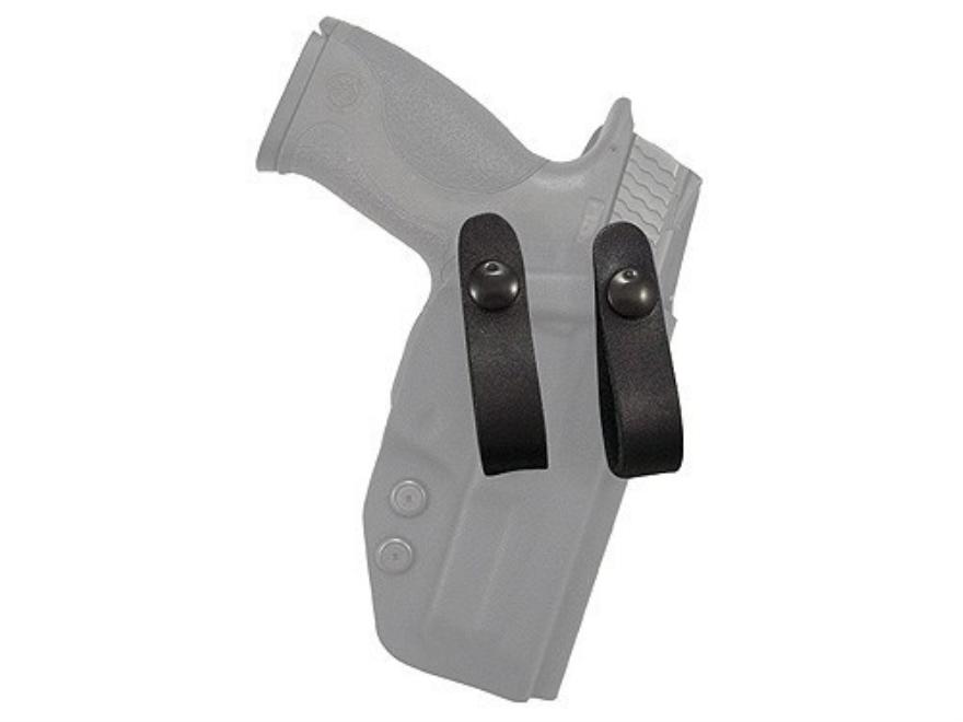 """Comp-Tac Infidel Holster Belt Loop 1-1/2"""" Leather Black"""