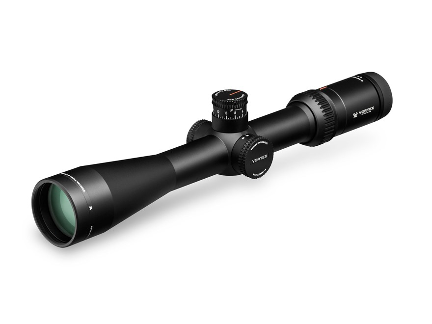 Vortex Optics Viper HS Long Range Rifle Scope 30mm Tube 4-16x 44mm Side Focus Dead-Hold BDC Reticle Matte