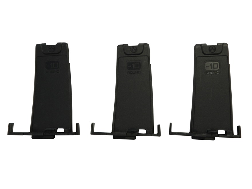 Magpul PMAG Minus 10-Round Limiter for Gen M3 Pmags 223 Remington Polymer Black Pack of 3