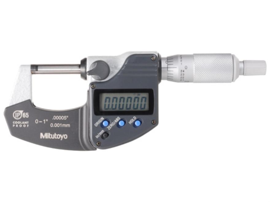 """Mitutoyo Digital Micrometer 1"""""""