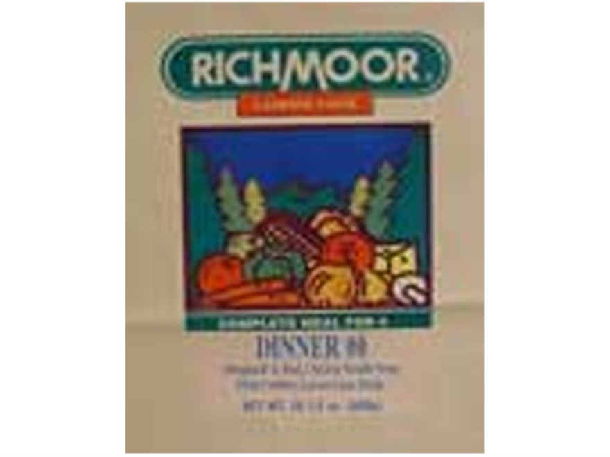 Richmoor Dinner #8 Freeze Dried Meal Combo