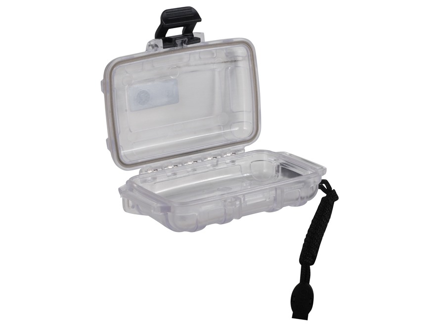 "Otterbox 1000 Waterproof Accessories Case 4.83"" x 3.68"" x 1.65"" Polymer Clear"