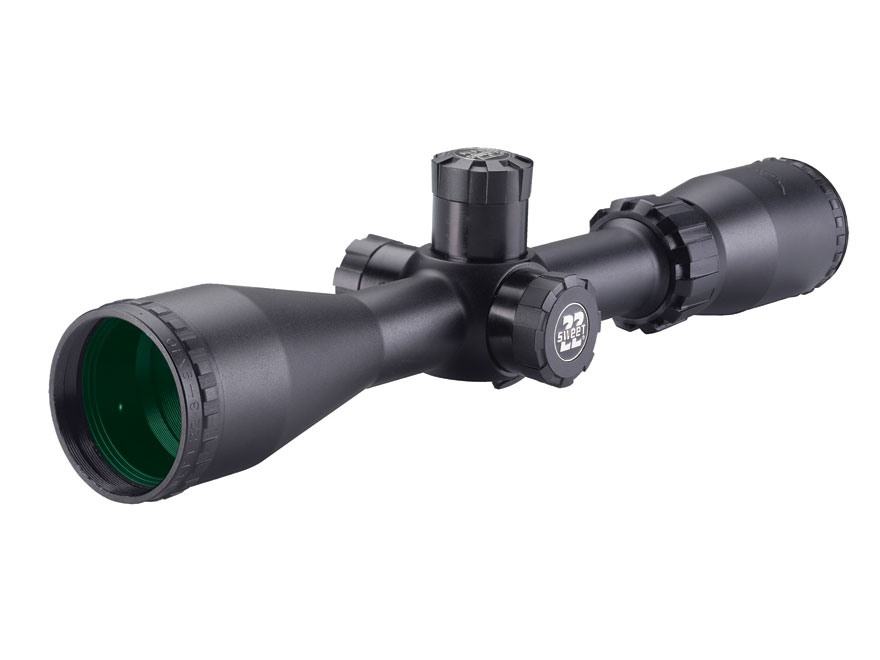 BSA Sweet 22 Rimfire Rifle Scope 3-9x 40mm Side Focus Duplex Reticle Matte