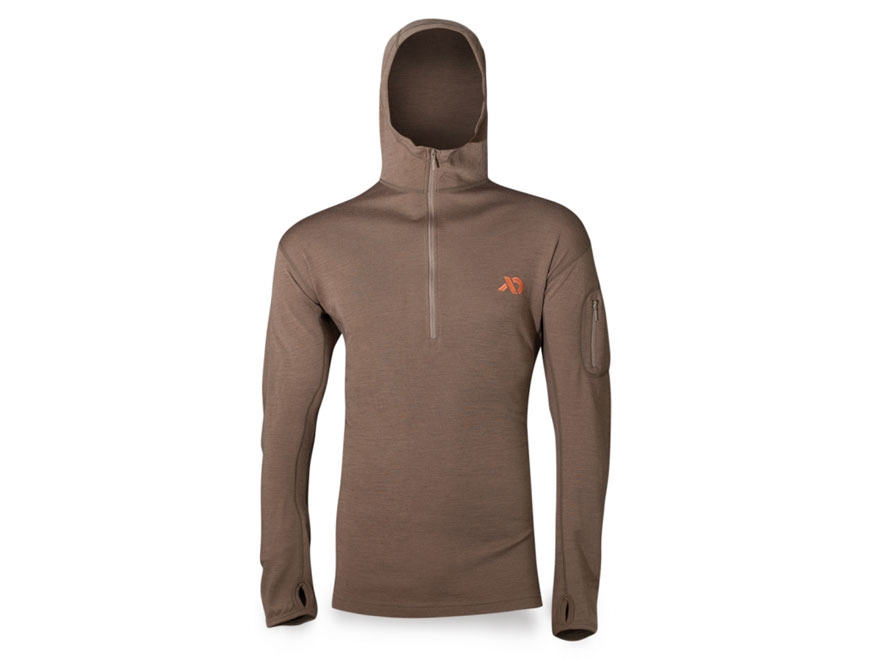 First Lite Men's Chama Hooded Sweatshirt Merino Wool