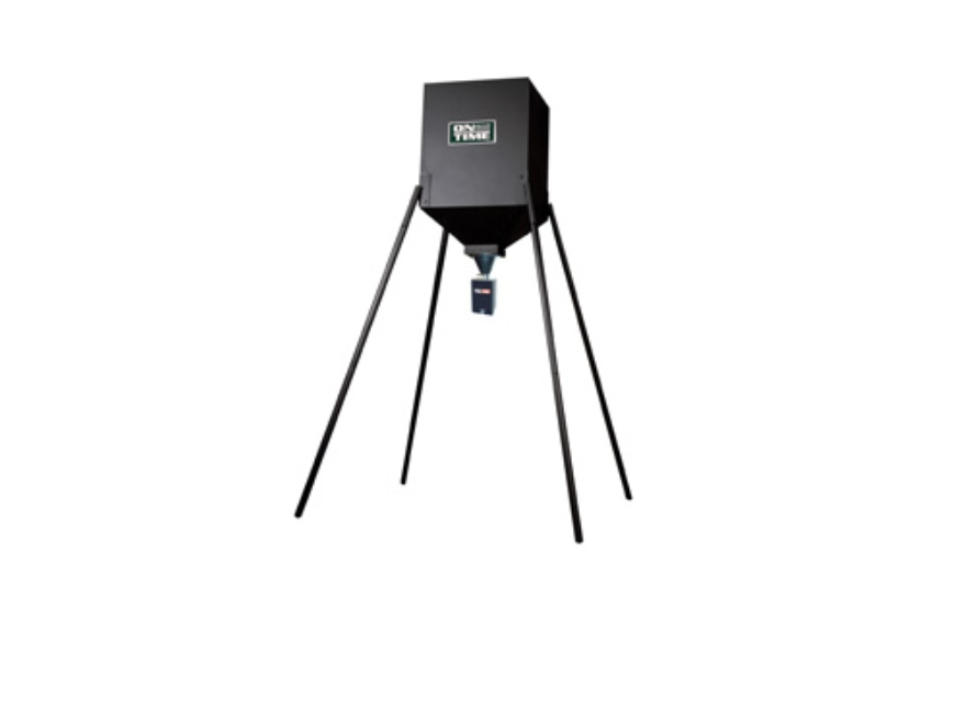 On Time S-250 Tomahawk 250 lb Tripod Game Feeder Combo