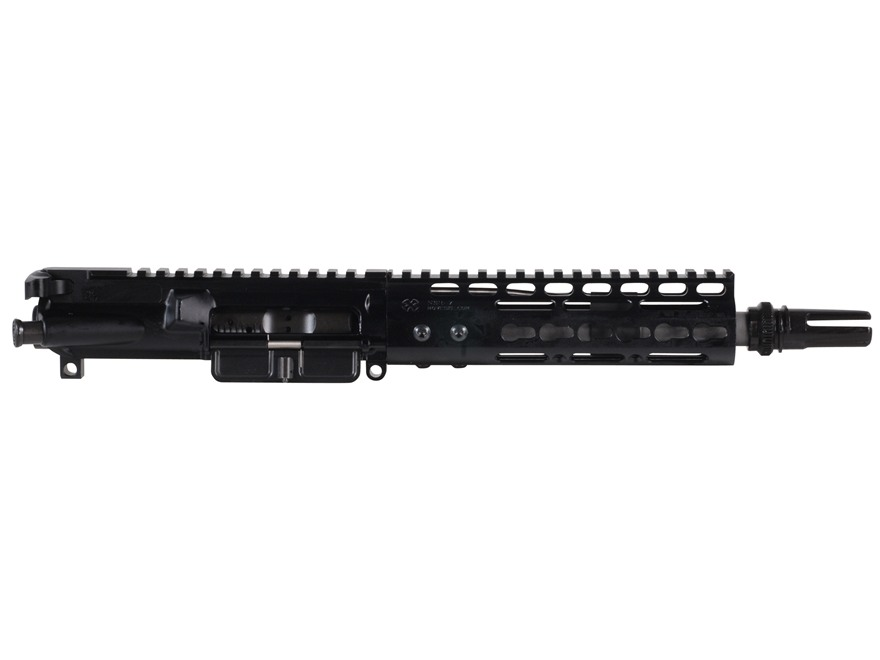"Noveske AR-15 Pistol Rogue Hunter A3 Flat-Top Upper Assembly 300 AAC Blackout 1 in 7"" Twist 8.2"" Barrel Stainless Steel with NSR-7 Free Float Handguard, AAC Blackout Flash Hider"