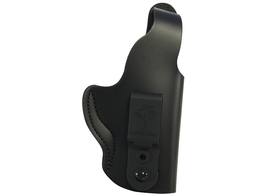 DeSantis Dual Carry II Inside/Outside the Waistband Holster Right Hand S&W M&P Leather Black
