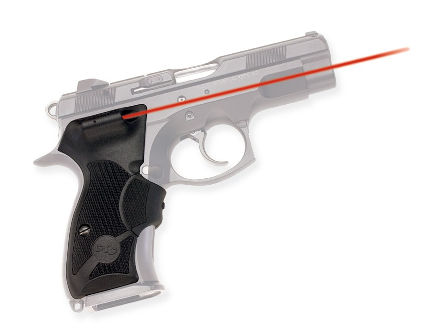 Crimson Trace Lasergrips CZ Full-Size and Compact Polymer Black