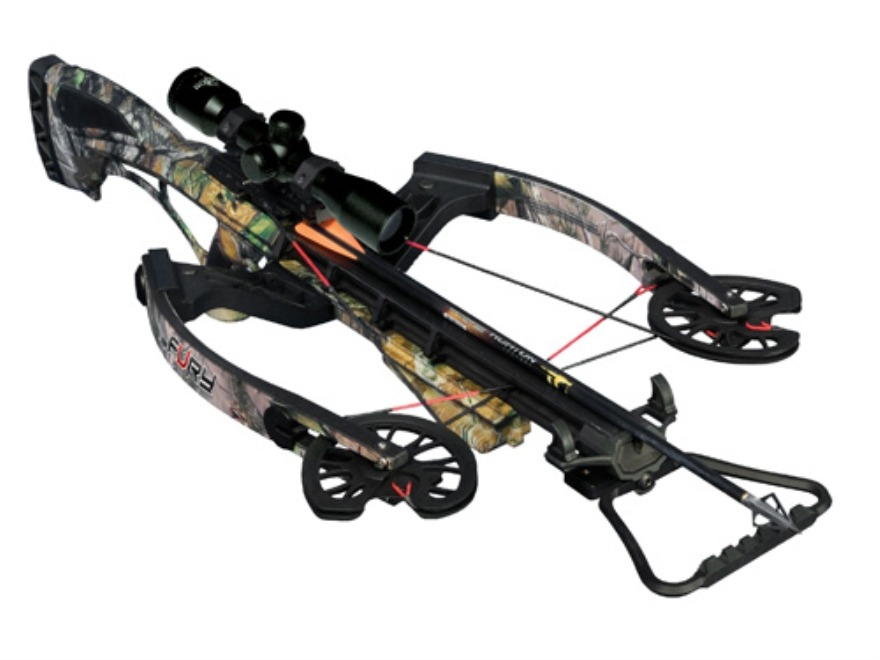 Horton Fury Premium Crossbow Package Realtree APG Camo