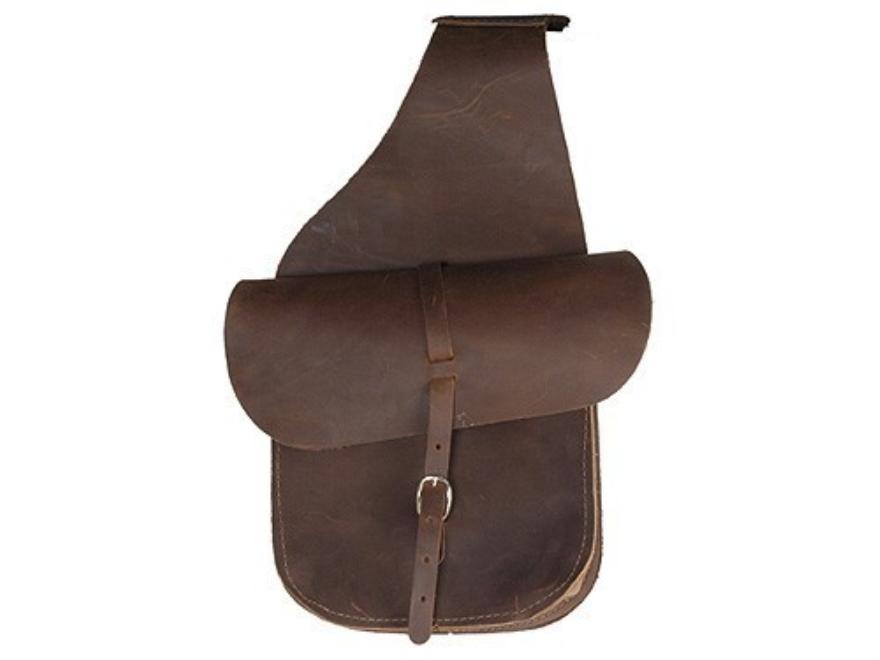 Oklahoma Leather Saddle Bags Leather Brown