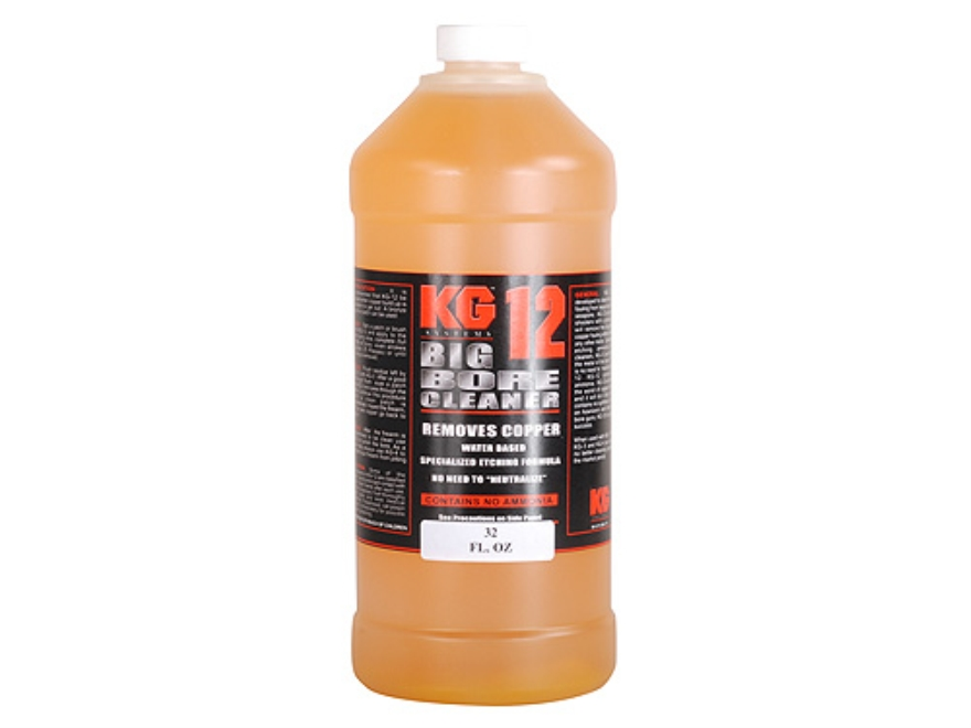 KG KG-12 Big Bore Cleaning Solvent