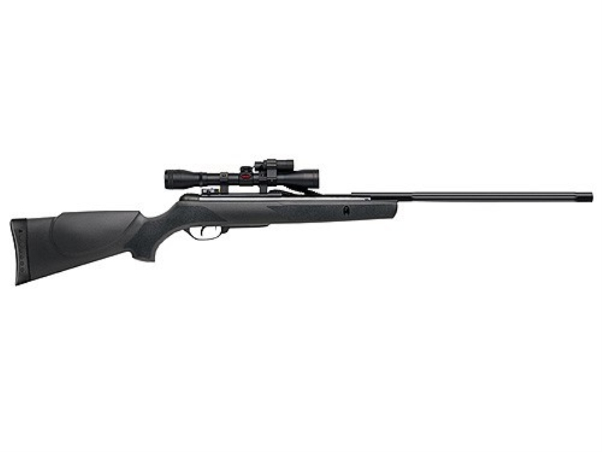 Gamo Varmint Hunter Air Rifle 177 Caliber Black Synthetic Stock Blue Barrel with Gamo A...