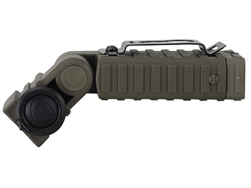 Streamlight Sidewinder Flashlight White, Red, Blue and Infrared LEDs  Polymer Olive Drab