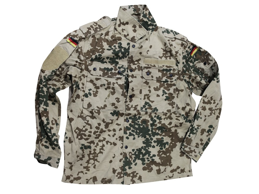 Military Surplus German Tropical Camo Field Shirt