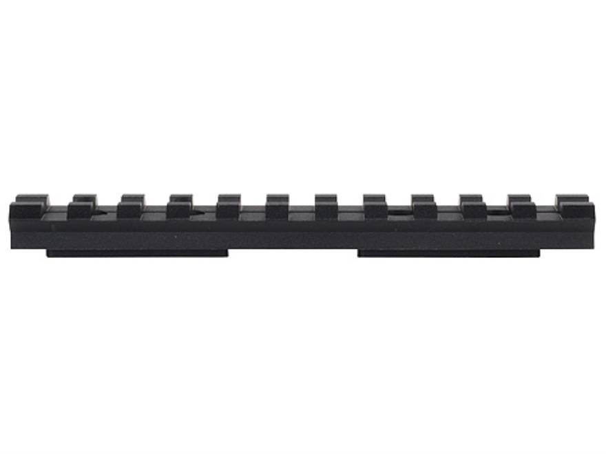 "Advanced Technology Picatinny Rail 4"" Length Fits ATI Strikeforce Stock for Ruger 10/22, SKS Aluminum Black"