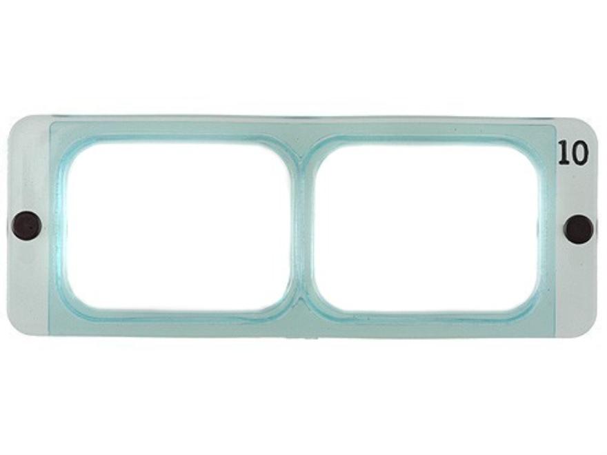"Donegan Optical OptiVISOR Magnifying Headband Visor Replacement Lens Plate 3-1/2X at 4"""