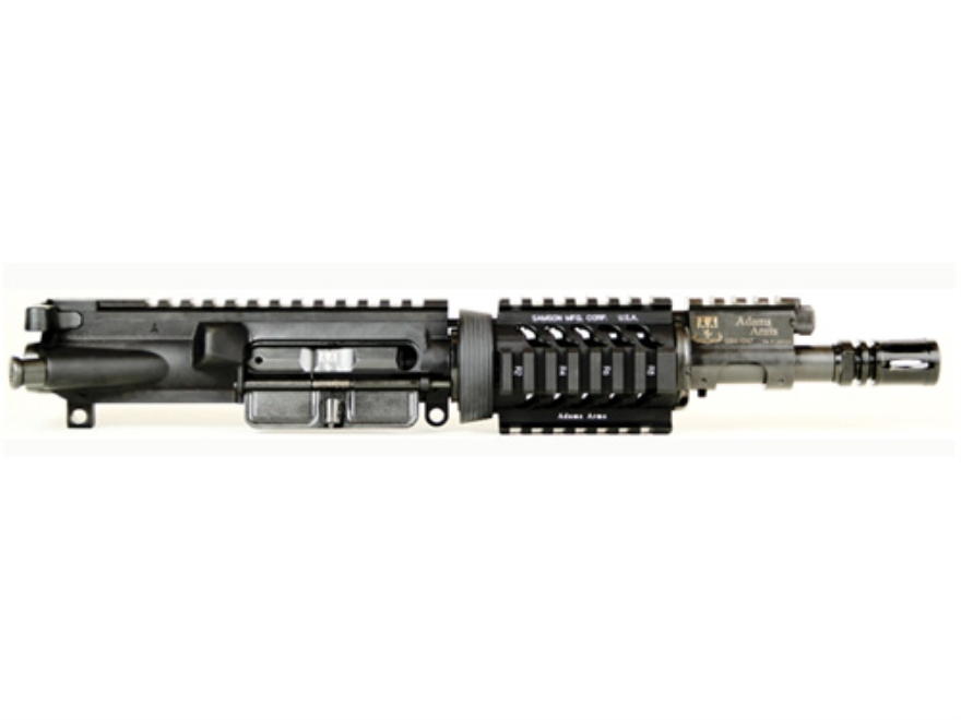 "Adams Arms AR-15 Pistol PDW Base A3 Gas Piston Upper Receiver Assembly 5.56x45mm NATO 7.5"" Barrel"