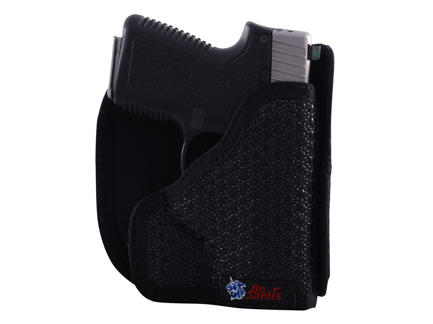 DeSantis Super Fly Pocket Holster Ambidextrous S&W Bodyguard 380 Nylon Black