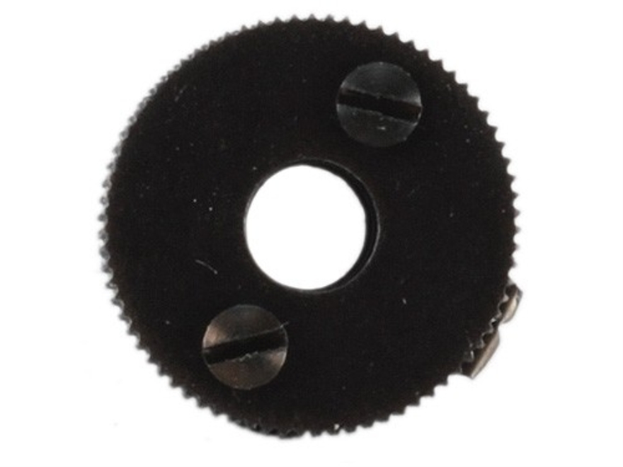 "Merit #4 Adjustable Hunting Aperture 1/2"" Diameter 7/32""-40 Thread fits Lyman and Williams Sights Black"