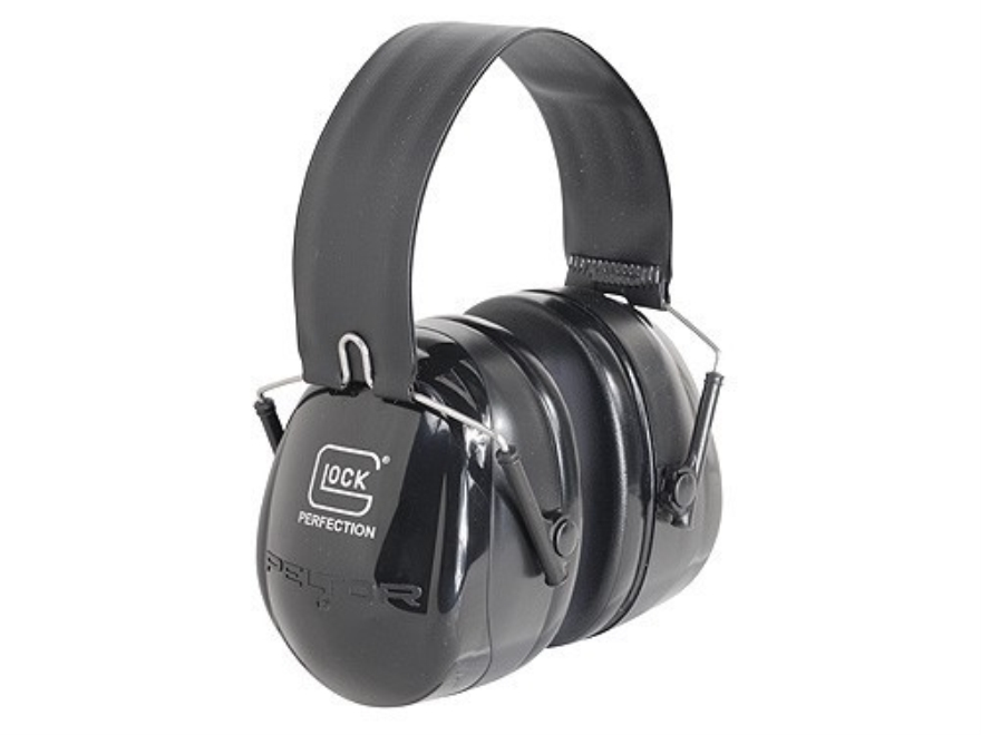 Glock Earmuffs (NRR 26 dB) Black