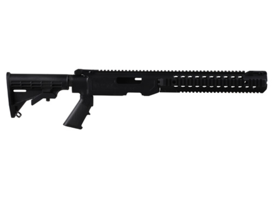 Troy Industries T22 TRX Extreme Tactical Chassis Kit Ruger 10/22 Long Rifle Black