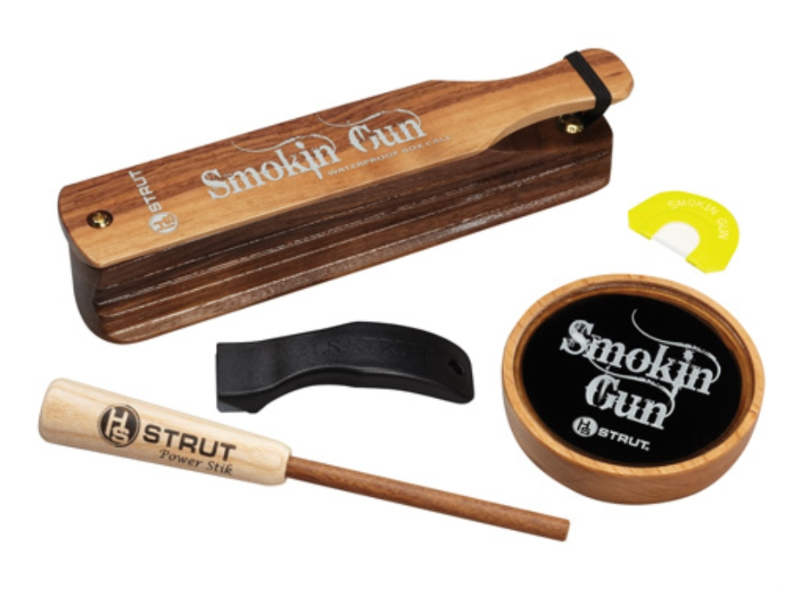 H.S. Strut Smokin' Gun Combo Turkey Call Set