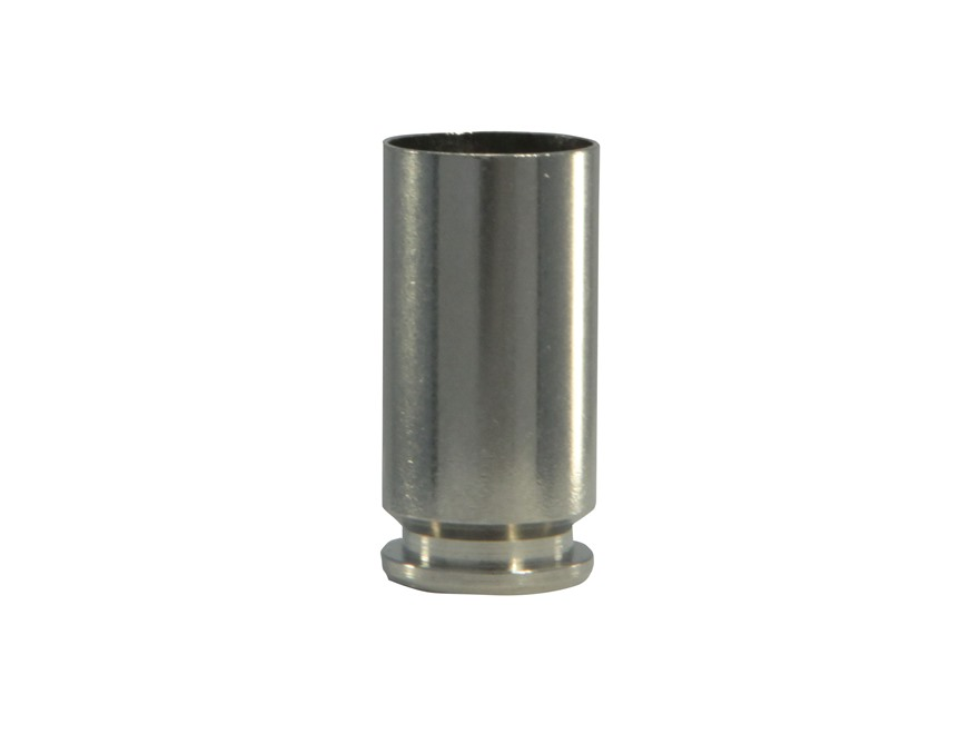 Doubletap Reloading Brass 40 S&W Nickel Plated Box of 100