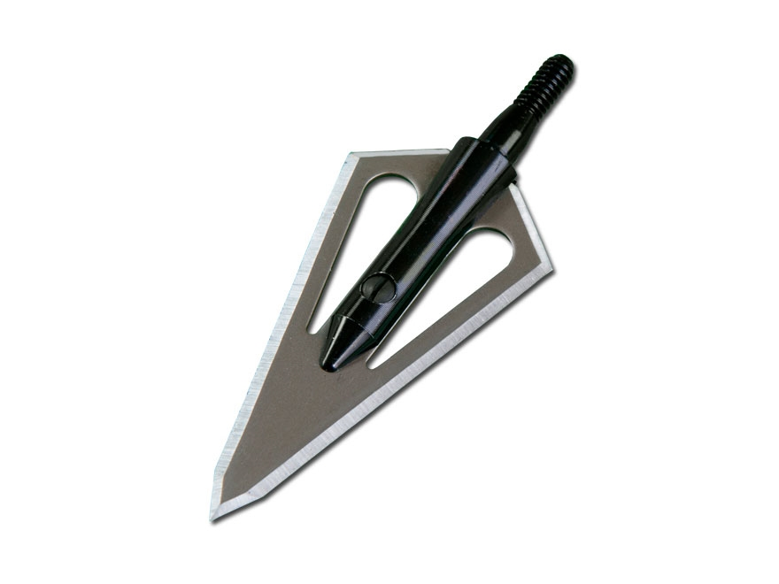 Magnus Stinger 2-Blade Fixed Blade Broadhead Stainless Steel Pack of 3