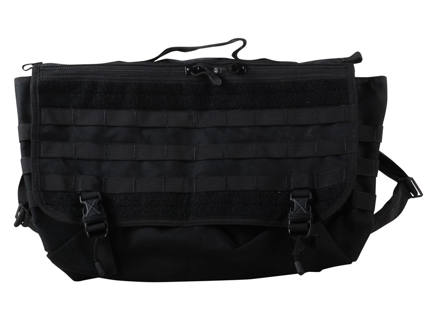 Spec-Ops T.H.E. Messenger Bag XL Nylon Black