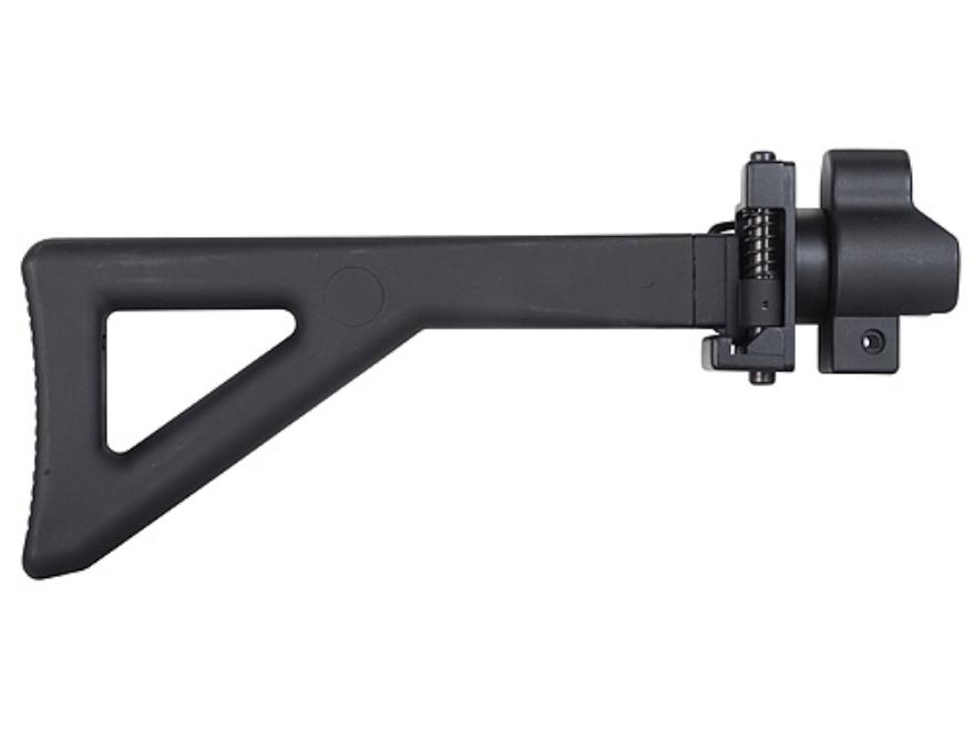 GSG Side Folding Buttstock Assembly GSG-5, GSG-522 Carbine Polymer Black