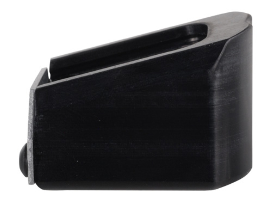 Taylor Freelance Extended Magazine Base Pad Sig Sauer 226, X5 +3 9mm Luger, +2 40 S&W Aluminum Black