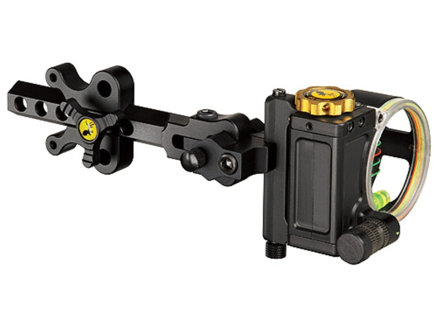 "Trophy Ridge Judge 5-Pin Bow Sight .019"" Pin Diameter Right Hand Aluminum Black"