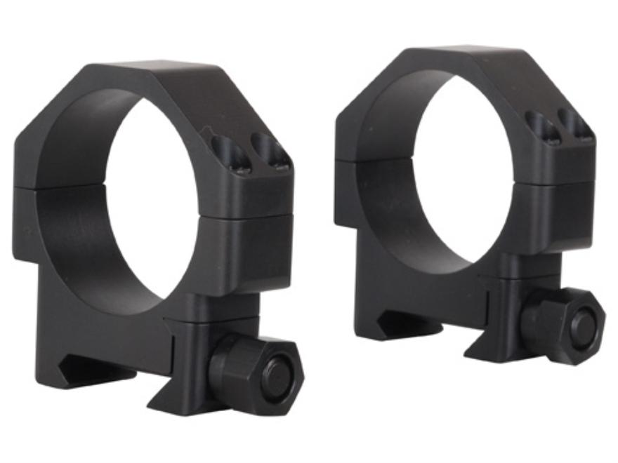 """TPS 34mm TSR """"W-SL"""" Weaver-Style Steel Rings Matte Super Low"""