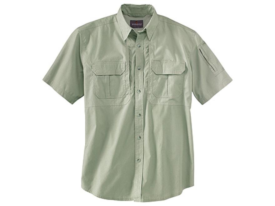 Woolrich Elite Lightweight Operator Shirt Short Sleeve Cotton