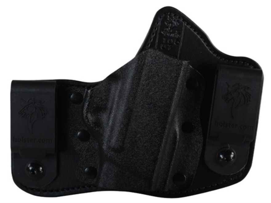 DeSantis Intruder Inside the Waistband Holster Right Hand S&W Bodyguard Kydex and Leather Black