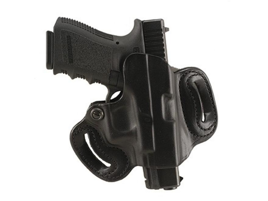 DeSantis Mini Slide Belt Holster Glock 17, 19, 22, 23, 26, 27, 31, 32, 33, 36 Leather