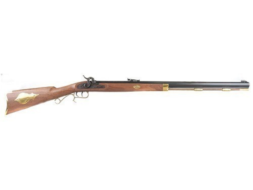 "Thompson Center Hawken Muzzleloading Rifle 50 Caliber Percussion Wood Stock 1 in 48"" Twist 28"" Octagon Barrel Blue"