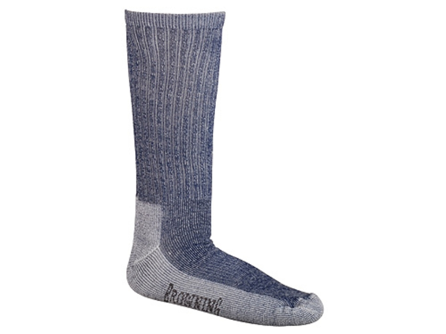 Browning Men's Merino Year Rounder Socks Wool Blend Navy Large 10-13