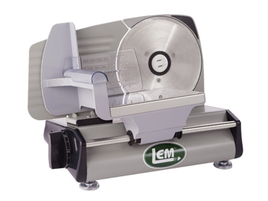 "LEM 7.5"" Electric Meat Slicer Stainless Steel"