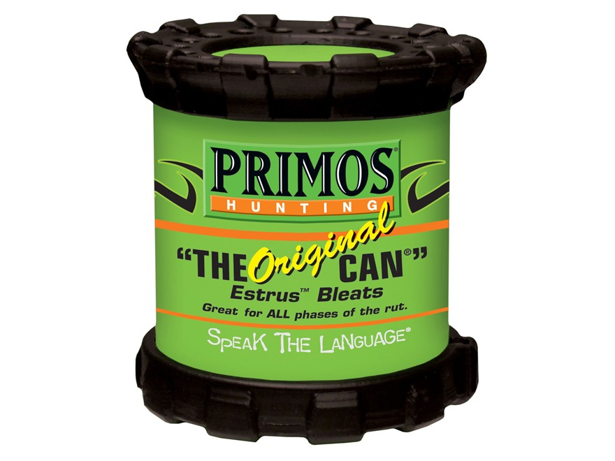 Primos Original Can with Grip Rings Deer Call