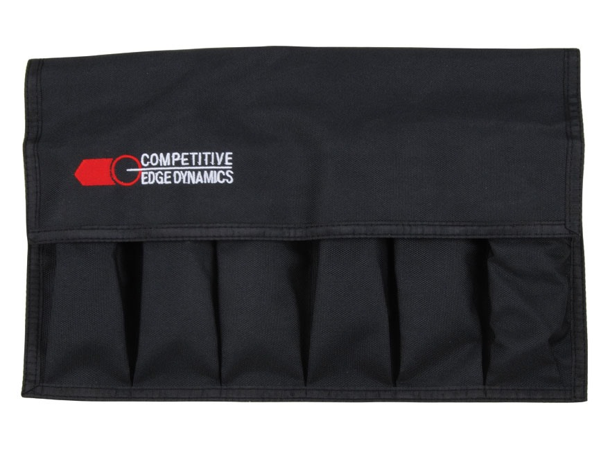 CED 6 Extended Magazine Storage Pouch Polyester Black
