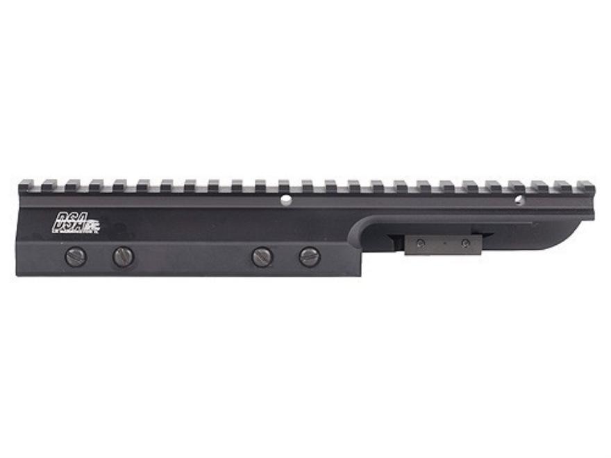 DSA Extended Scope Mount FN FAL Fixed Stock Aluminum Matte