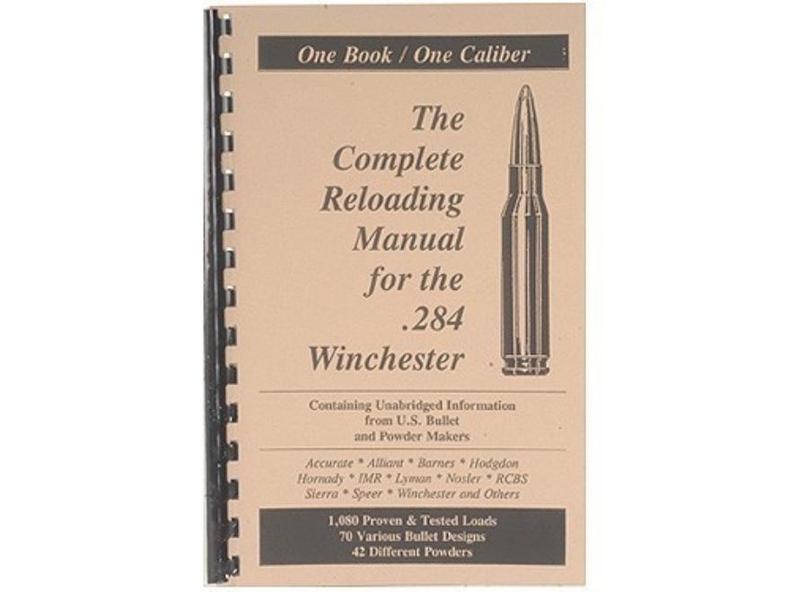 "Loadbooks USA ""284 Winchester"" Reloading Manual"