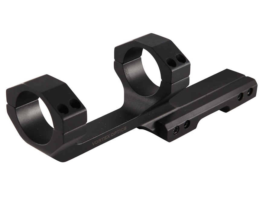 Vortex Cantilever 1-Piece Extended Scope Mount Picatinny-Style with Integral Rings AR-15 Flat-Top Matte